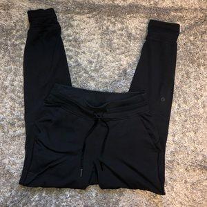 Black Lululemon joggers